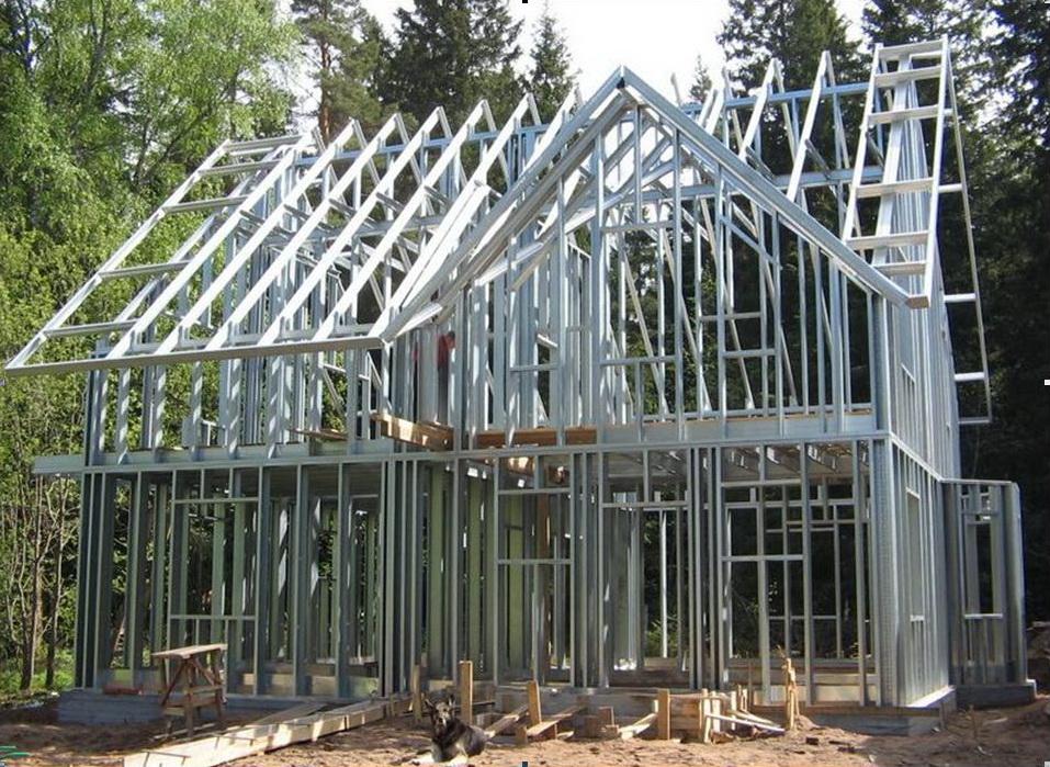 Построить дом из лстк своими руками 64