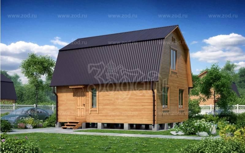Каркасный дом УСПЕХ K-150 ЛК